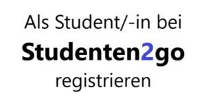studenten2go, helfer, student, registrierung